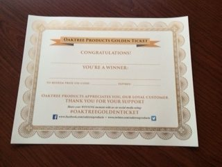What is the #OaktreeGoldenTicket? – guest post by Oaktree